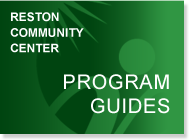 Reston Community Center Program Guides