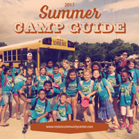 2017 Summer Camp Guide cover