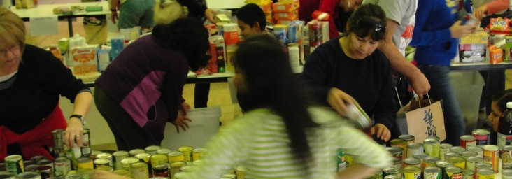 Reston Thanksgiving Food Drive