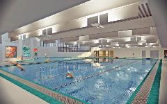 Rendering of new Terry  L. Smith Aquatics Center