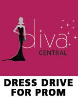 Diva Central Dress Drive for Prom