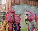 Family Fun Entertainment Series - Blue Sky Puppet Theatre - The Three Not So Little Pigs