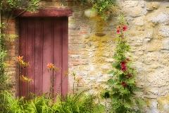 Carla Steckley, Door in France, photograph